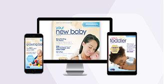 Enfamil Magazines sent with your Newborn, Infant or Toddler Sample Kit